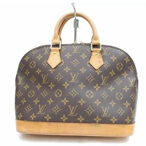 Louis Vuitton Hand Bag Alma M51130 Browns Monogram